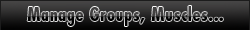 Manage Muscle Groups, Muscle Names and Miscellaneous Settings